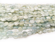 Aquamarine 12x8mm Nugget Beads - by the strand