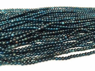 Apatite 4mm Round Beads - by the strand (21500)