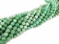 Chrysoprase 6mm Round  Beads - By the Strand