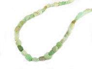 Chrysoprase 7x9mm Tumbled Nugget Beads  - By the Strand