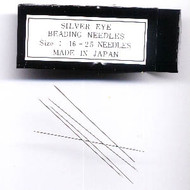 Beading Needle Size 16 Hard Silvereye Japanese Quality 25 Pieces