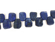 Lapis Bead Freeform Slabs - by the strand