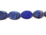 Lapis Bead 25x35mm Oval - by the strand