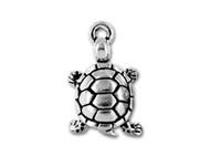 TierraCast Antique Silver Turtle Charm each