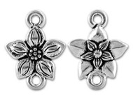 TierraCast Antique Silver Star Jasmine Link each