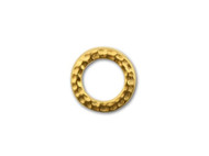 TierraCast Bright Gold Small Hammered Ring Link each