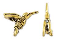 TierraCast Antique Gold Hummingbird Bead each