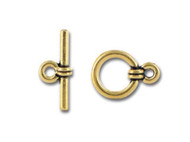 TierraCast Antique Wrapped Toggle Clasp Set each