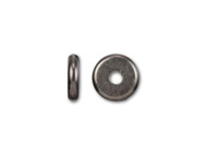 TierraCast 6mm Black Disk Heishi Spacer Bead 20 pieces