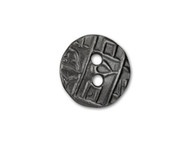 TierraCast Black Round Coin Button each