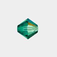 Swarovski 3mm Emerald AB Bicone/Xilion 5328/5301 1440 PCS (33236)