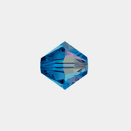 Swarovski 3mm Capri Blue AB Bicone/Xilion 5328/5301 1440 PCS (33210)