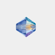 Swarovski 3mm Light Sapphire AB Bicone/Xilion 5328/5301 1440 PCS (33279)