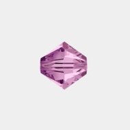 Swarovski 4mm Light Amethyst Bicone/Xilion 5328/5301 1440 PCS