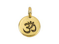 TierraCast Antique Gold Om Charm each