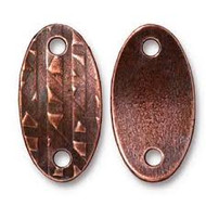 TierraCast Antique Copper Rock & Roll Oval Link each