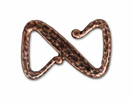 TierraCast Antique Copper Z Hook Clasp each