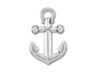 TierraCast Antique Silver Large Anchor Pendant Charm each