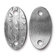 TierraCast Antique Pewter Rock & Roll Oval Link each
