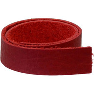 "TierraCast Leather 1/2""x10"" Strap Red each"