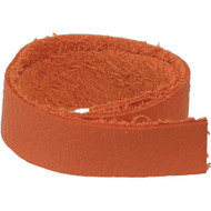 "TierraCast Leather 1/2""x10"" Strap Orange each"