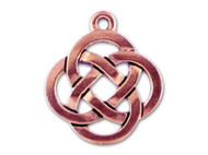 TierraCast Antique Copper Open Round Celtic Pendant each