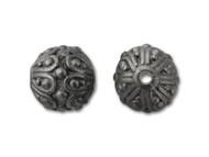 TierraCast Black Casbah Round Bead each