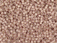 Miyuki Delica Seed Bead size 11/0 Pink Shell Opal Silver Lined DB 1459