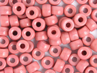 Crow Bead - Glass Opaque Pink 9mm