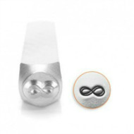 Impressart 6mm Metal Design Stamp Infinity - each