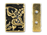TierraCast Antique Gold Calla 2 Hole Link each