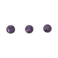 Charoite Cabochon12mm Round AAA Grade - each