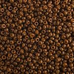 Miyuki Round Seed Bead Size 11/0 Sienna Opaque Duracoat SB 4492