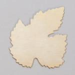 Metal Blank  Leaf  Brass 40x50mm 24ga