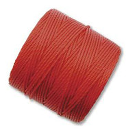 Superlon Shanghai Red Fine Bead Cord Tex 135 118 yards - each