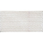 Griffin Nylon Polythread White Size 10 0.90mm 2 meter card (60014)