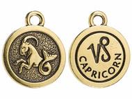 TierraCast Antique Gold Capricorn Charm each