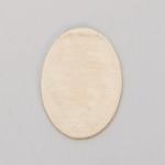 Metal Blank  Oval  Brass 18x13mm 24ga
