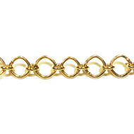 Gold-Filled Chain Fancy Lightweight - per foot