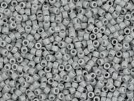 Miyuki Delica Seed Bead size 11/0 Grey Ghost Opaque 50g Bag DB 1139