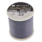 Miyuki Nylon Bead Thread Size B Slate Grey 50M