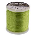 Miyuki Nylon Bead Thread Size B Peridot 50M