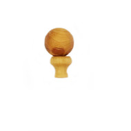 Guru Bead Cedar Wood 12mm bead and tower set