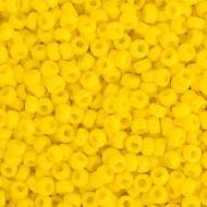 Miyuki Round Seed Bead Size 15/0 Yellow Opaque SB 0404