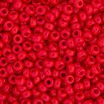 Miyuki Round Seed Bead Size 15/0 Red Opaque SB 0408 (62127)