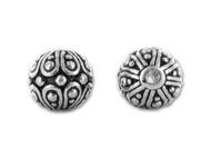 TierraCast Antique Silver Casbah Round Bead each