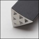 Wubbers Artisan's Mark Triangle Inner Texture Hammer HAM-6103 - each