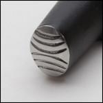 Wubbers Artisan's Mark Oval Texture Hammer HAM-6102 - each