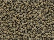 Miyuki Delica Seed Bead size 11/0 Grey DB 2282 Frosted Glazed Matte - each