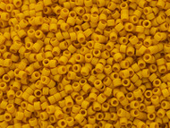 Miyuki Delica Seed Bead size 11/0 Yellow Canary DB 2284 Frosted Glazed Matte  - each